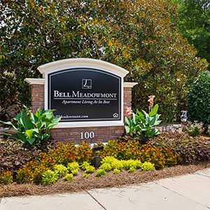 Bell Meadowmont Entrance Sign