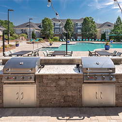 Bell Meadowmont Grills